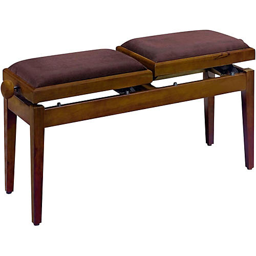 Musician's Gear Double Adjustable Piano Bench