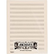 Archives Double Folded Manuscript Paper