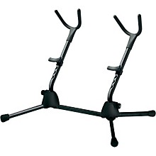 K&M Double Saxophone Stand