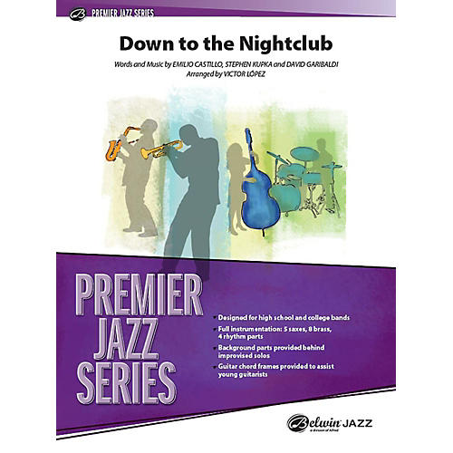 Alfred Down to the Nightclub Jazz Band Grade 4 Set-thumbnail