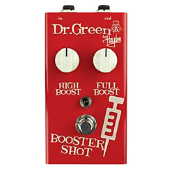 Dr. Green Booster Shot Signal Booster Guitar Effects Pedal (Booster Shot)