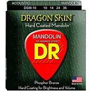 DR Strings Dragon Skin Clear Coated Mandolin Strings (10-14-24-36)