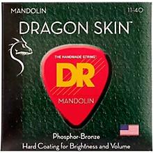 DR Strings Dragon Skin Clear Coated Mandolin Strings (11-15-26-40)