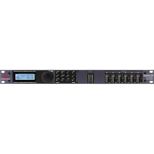dbx DriveRack 260 Complete Equalization and Loudspeaker Control System Black