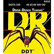 DR Strings Drop Down Tuning Medium 5-String Bass Strings (45-130)