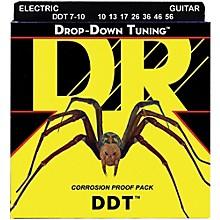 DR Strings Drop Down Tuning Medium 7-String Electric Guitar Strings (10-56)