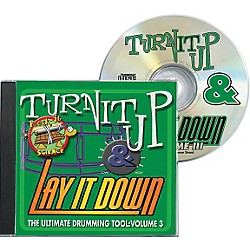 Drum Fun Inc Turn It Up and Lay It Down, Volume 3 - Rock-It Science - Play Along CD for Drummers (451092)