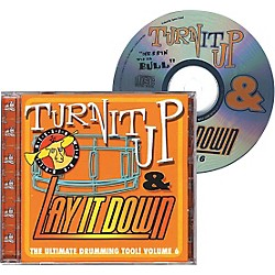 Drum Fun Inc Turn It Up and Lay It Down, Volume 6 - Messin' Wid Da Bull - Play Along CD for Drummers (451095)