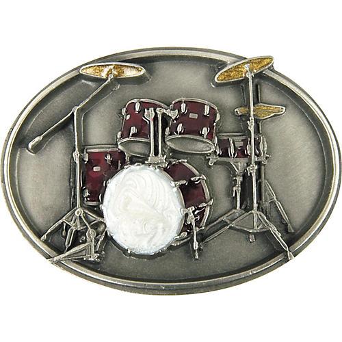 Gear One Drum Set Belt Buckle-thumbnail