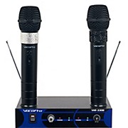 VocoPro Dual Channel VHF Wireless Microphone Set