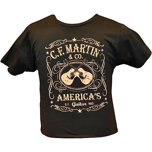 Martin Dual Guitars Vintage T-Shirt-thumbnail