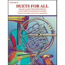 Alfred Duets for All Snare Drum