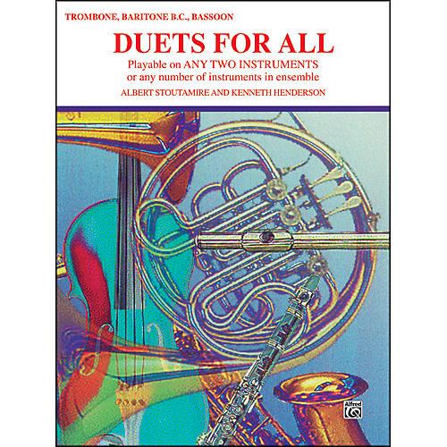 Alfred Duets for All Trombone Baritone B.C. Bassoon-thumbnail