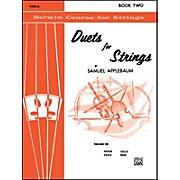 Alfred Duets for Strings Book II Viola