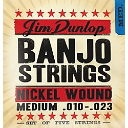 Dunlop 5-String Banjo Medium Nickel String Set (DJN1023)