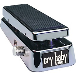 Dunlop 535QC Chrome Cry Baby Wah Pedal (535QC)