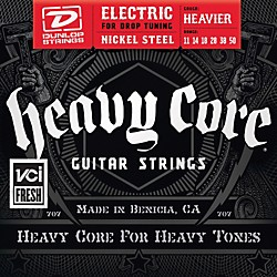 Dunlop Heavy Core Electric Guitar Strings - Heavier Gauge (DHCN1150)