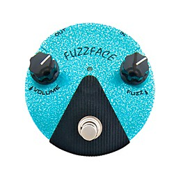 Dunlop Jimi Hendrix Fuzz Face Mini Turquoise Guitar Effects Pedal (FFM3)