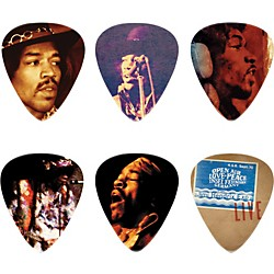 Dunlop Jimi Hendrix Hear My Music Pick Tin with 6 Medium Picks (JH-PT07M)