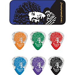 Dunlop John VanHanersvelt Jimi Pick Tin with 6 Picks (JVHPT04H)