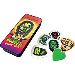 Dunlop Kirk Hammett Monster Pick Tin with 6 Picks (KH01T088)