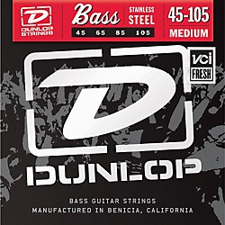 Dunlop Medium Stainless Steel Bass Strings (DBS45105)