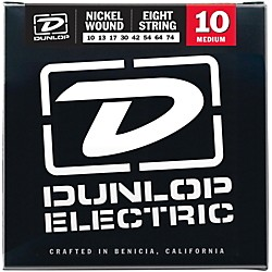 Dunlop NPS 8-string Electric Guitar Strings (10-74) (DEN1074)