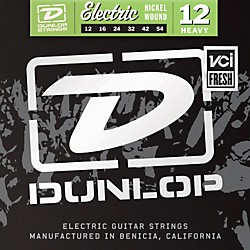 Dunlop Nickel Electric Guitar Strings - Heavy (DEN1254)