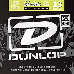Dunlop Nickel Plated Steel Electric Guitar Strings - Extra Heavy (DEN1356)