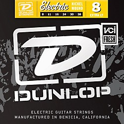 Dunlop Nickel Plated Steel Electric Guitar Strings - Extra Light (DEN0838)