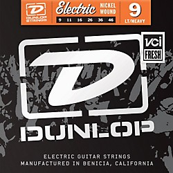 Dunlop Nickel Plated Steel Electric Guitar Strings - Light Top Heavy Bottom 9's (DEN0946)