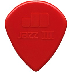 Dunlop Nylon Jazz III Guitar Pick (47P3N)