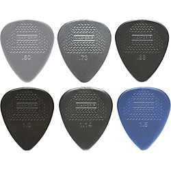 Dunlop Nylon Max Grip Guitar Picks - 12-Pack (449P.60)