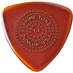 Dunlop Primetone Triangle Sculpted Plectra with Grip 3-Pack (512P14)