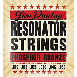 Dunlop Resonator Guitar Phosphor Bronze String Set (DOP1656)
