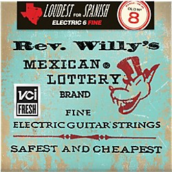 Dunlop Reverend Willy's Electric Guitar String Set - Light (RWN0840)