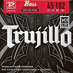 Dunlop Robert Trujillo Icon Series Bass Guitar Strings - 4 String Set (RTT45102T)