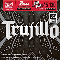 Dunlop Robert Trujillo Icon Series Bass Guitar Strings - Uno Mas 5 String Set (RTT45130T)