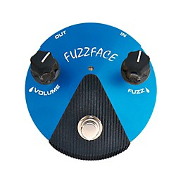 Dunlop Silicon Fuzz Face Mini Blue Guitar Effects Pedal (FFM1)
