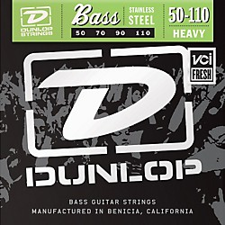 Dunlop Stainless Steel Bass Strings - Heavy (DBS50110)