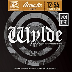Dunlop Zakk Wylde Icon Series Phosphor Bronze Light Acoustic Guitar Strings (ZWP1254)