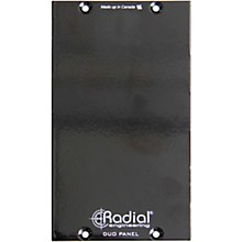 Radial Engineering Duo 500 Series Double Wide Filler Panel