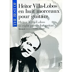 Durand Best Of Heitor Villa-Lobos In Eight Pieces For Guitar (50565682)