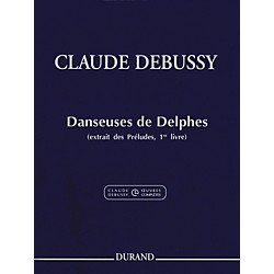 Durand Claude Debussy Danseuses de Delphes Book 1 For Piano (50565202)