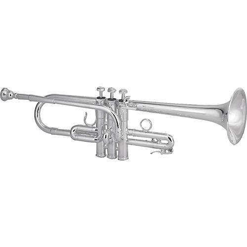 Schilke E3L Custom Series Eb / D Trumpet with Tuning Bell E3L Silver