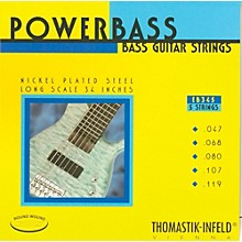 Thomastik EB345 Medium-Light Power Bass Roundwound 5-String Bass Strings