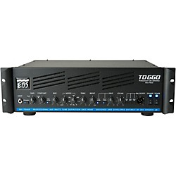 EBS 660 Watt Guitar Amplifier Head (EBS TD660)