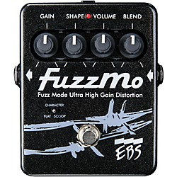 EBS FuzzMo Ultra High Gain Distortion Guitar Effects Pedal (EBS Pedal FM)