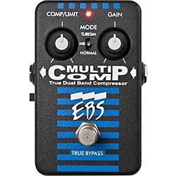 EBS MultiComp True Dual Band Compressor Pedal (MultiComp)