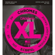 D'Addario ECB81SL Chrome Bass FW Soft Super-Long String Set